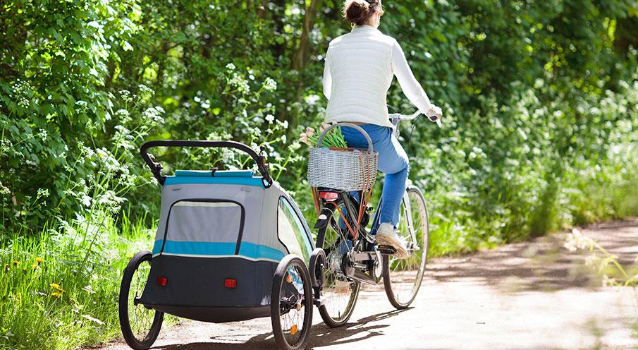 Hur få med barnen på cykelturen?